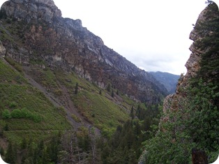 View from Timpanogos Cave Trail