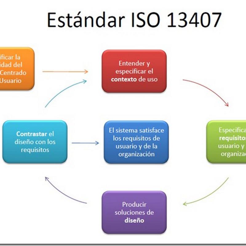 Estándares formales de usabilidad y su aplicación práctica en una ...