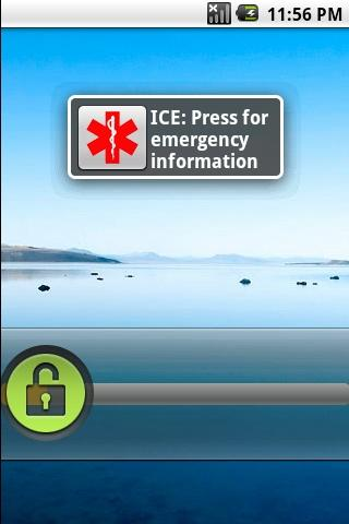 Emergency Information ICE - screenshot