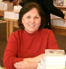 Mary at Borders Book Signing Small
