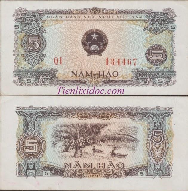 5 Hào Việt Nam 1976