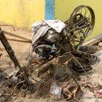 Siège inter fédéral du PPRD saccagé le 5/9/2011 à Kinshasa. Radio Okapi/ Ph. John Bompengo