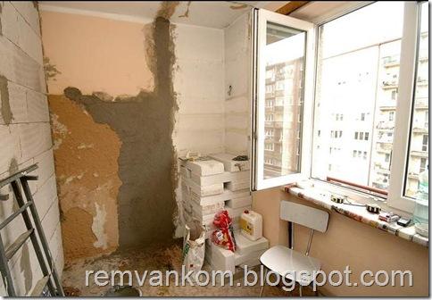 комплексный ремонт ванной комнаты 2