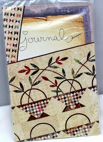 Quilt Journal from Laundry Basket Quilts