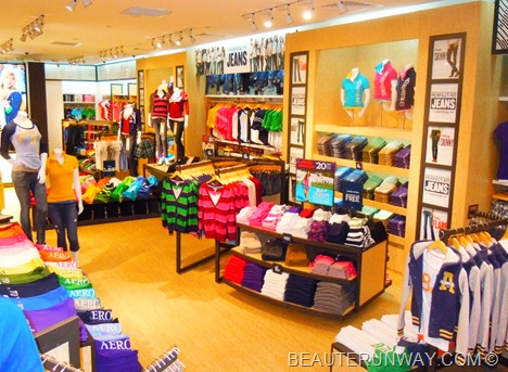 AÉROPOSTALE SINGAPORE Ladies Men Collection ION ORCHARD & CITYLINK MALL