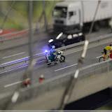 Radrennen auf der Hängebrücke