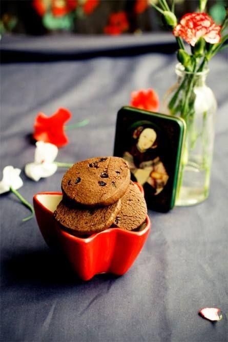 Cùng làm bánh quy chocolate cho Chủ nhật này nhé :D (công thức ở cmt ạ)