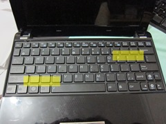 keyboard in