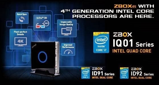 ZOTAC ZBOX INTEL HASWELL