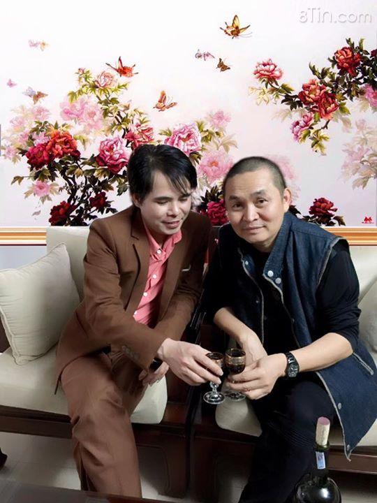 Năm mới Gia Huy TGĐ c.ty Thêu Việt tặng bức tranh (