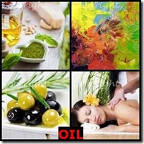OIL- 4 Pics 1 Word Answers 3 Letters