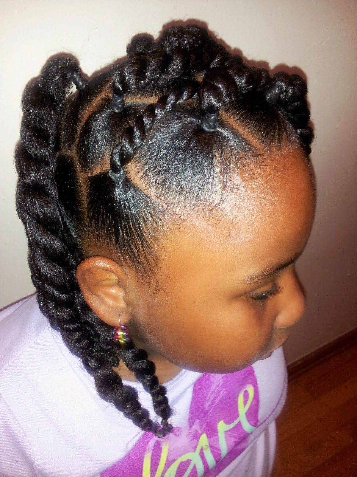 Curves Curls Amp Style Natural Hairstyles For Kids