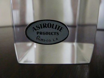 Astrolite Products Ritts Co L A Various Designers