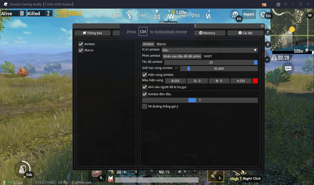 Hack PUBG Mobile Tencent PC Dafpibg 2 0 Ngày 04/06/2019   Hack PUBG 2019