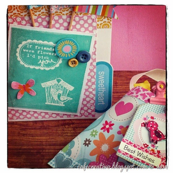Anna Draicchio - cafe creativo - craft asylum - scrapbookig - card - gift