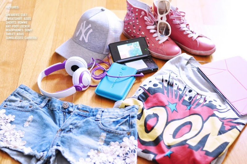 nintendo 3d, ASOS, zagufashion, fashion bloggerers, outfit, i nuovi giochi della nintendo, tecnologia, hi-tech