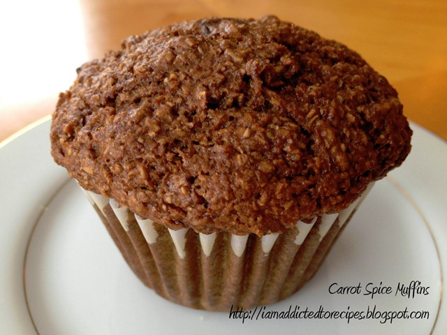 carrot spice muffins logo