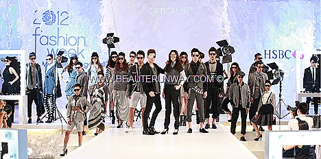 OPTICAL 88 DESIGNER EYEWEAR LADIES MEN BRAND SPECTACULAR SHOW 2012 SPRING SUMMER FASHION WEEK BURBERRY PRADA FENDI HUGO BOSS IC!