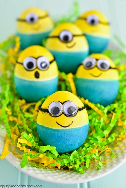 Dyed-Minion-Easter-Eggs