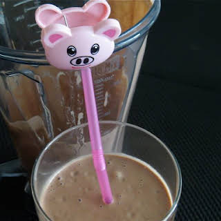 Hide-The-Spinach Chocolate Shake.
