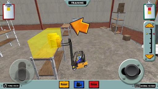 Forklift Truck Simulator 3D