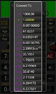 Mathex Scientific Calculator - screenshot thumbnail