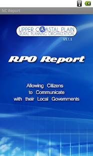 NC Report- screenshot thumbnail