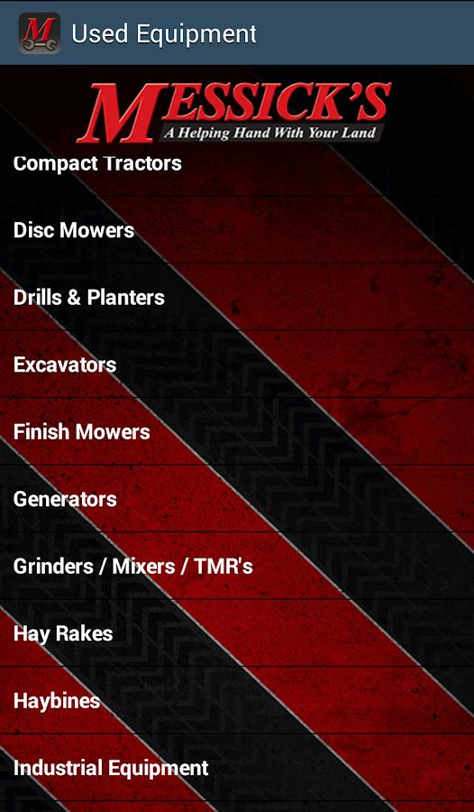 Equipment Parts Diagrams - screenshot