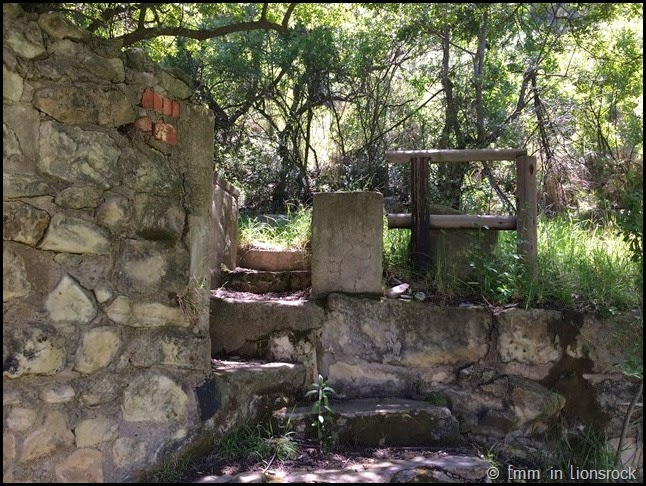 Mysterious steps at Lionsrock