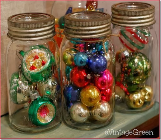 Christmas jar bulbs