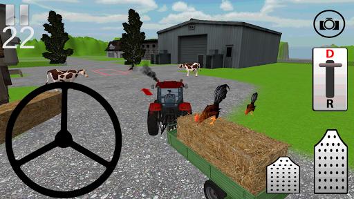 拖拉機農場遊戲3D