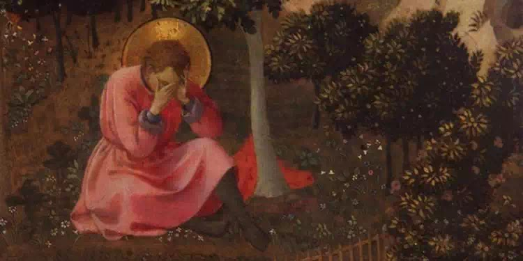 Tranh: Âu-tinh (Fra Angelico).