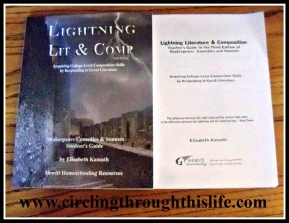 Lightning Lit Shakespeare Comedies & Sonnets from Hewitt Homeschooling