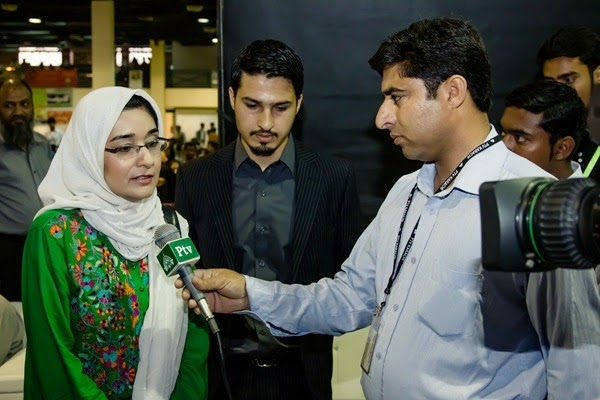 with Dr Fauzia Siddiqui on National TV