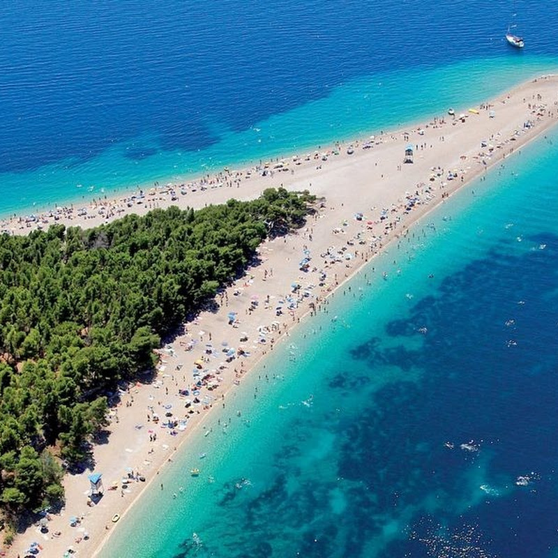 Zlatni Rat - The Golden Horn Beach, Croatia