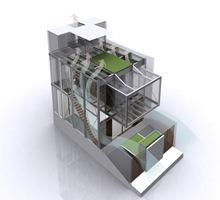 Planos Casa Moderna De 3 Plantasen Indonesia Arquitexs - Plano-casas-modernas
