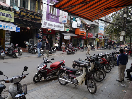 Zi cu zi in Vietnam: strazi in Hanoi