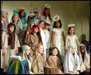12 - Christmas Program Cast