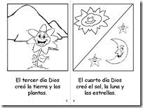 Colorear La Creación Del Mundo Dibujos Religión Blog De Imágenes