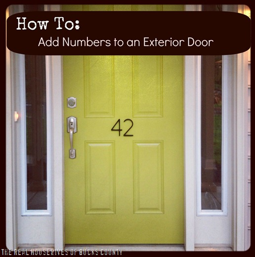 31024b35810 How to Add  Awesome  House Numbers