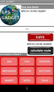 GPS Gadget Navigation App