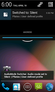 Audio Mode Switcher - screenshot thumbnail