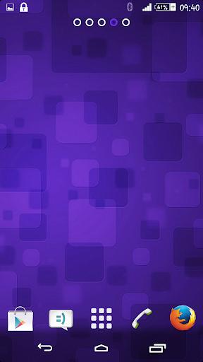 Violet Texture Theme By Arjun