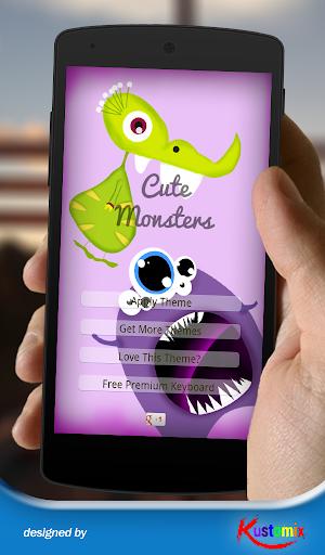 Cute Monsters Keyboard