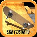 Skateboard + icon