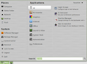 Nicelooking icons and an easytouse menu (compare this with Mandriva KDE)
