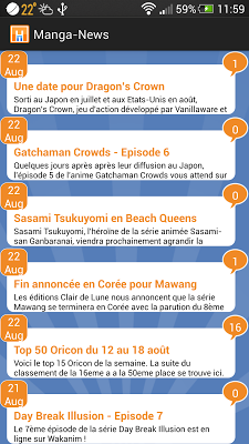 Manga-News - screenshot