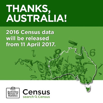 The first data from the 2016 Census will be released on 11