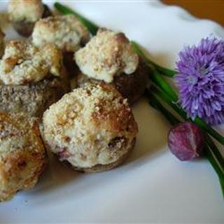 The Best Stuffed Mushrooms