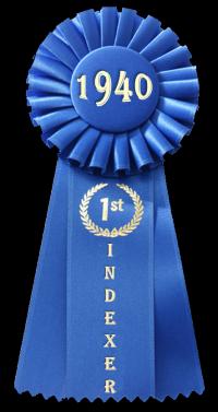 蓝丝带,1940年在黑色,200